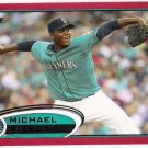 MICHAEL PINEDA 2012 Topps RED Border PARALLEL Card #225 Seattle Mariners FREE SHIPPING Target Insert