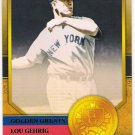 LOU GEHRIG 2012 Topps Golden Greats INSERT Card #GG-3 New York Yankees FREE SHIPPING Baseball