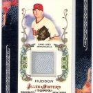 DANIEL HUDSON 2011 Topps Allen & Ginter Relics GAME USED Jersey Card #AGR-DH Arizona Diamondbacks