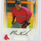 MILES HEAD 2011 Bowman CHROME Prospects REFRACTOR Insert Card #BCP188 Boston Red Sox #'d 112/500