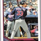 JUSTIN MORNEAU 2011 Topps Lineage Card #20 Minnesota Twins FREE SHIPPING Baseball 20