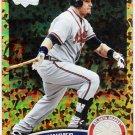 ERIC HINSKE 2011 Topps Cognac Diamond Anniversary REFRACTOR Insert Card #482 Atlanta Braves