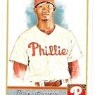 DOMONIC BROWN 2011 Topps Allen & Ginter SHORT PRINT Insert Card #324 Philadelphia Phillies