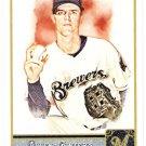 ZACK GREINKE 2011 Topps Allen & Ginter SHORT PRINT Insert Card #345 Milwaukee Brewers FREE SHIPPING