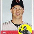JOE MAUER 2012 Topps Heritage Card #186 Minnesota Twins FREE SHIPPING Baseball 186