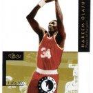 AKEEM OLAJUWON 1993-94 Classic Images Four Sport Acetates INSERT Card #4 Houston Rockets Basketball