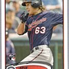 JOE BENSON 2012 Topps ROOKIE Card #235 Minnesota Twins FREE SHIPPING Baseball 235 RC