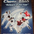 COLUMBUS CLIPPERS 2010 Season Pocket Schedule Huntington Park CLEVELAND INDIANS Baseball Triple A