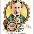 SAMUEL MORSE 2011 Topps Allen & Ginter Minds That Made The Future INSERT Card #MMF7 FREE SHIPPING