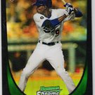 DEE GORDON 2011 Bowman CHROME Draft REFRACTOR Rookie Card #40 Los Angeles Dodgers FREE SHIPPING