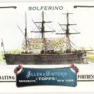 SOLFERINO 2011 Topps Allen & Ginter Floating Fortresses INSERT Card #FF14 Baseball FREE SHIPPING