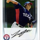 LUKE JACKSON 2011 Bowman CHROME Prospects 1st ROOKIE Card #BCP124 Texas Rangers FREE SHIPPING