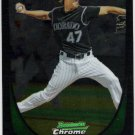 ALAN JOHNSON 2011 Bowman CHROME ROOKIE Card #53 Colorado Rockies FREE SHIPPING Baseball