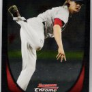 CLAY BUCHHOLZ 2011 Bowman CHROME Card #116 Boston Red Sox FREE SHIPPING Baseball 116