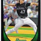 ALAN JOHNSON 2011 Bowman Draft ROOKIE Card #53 Colorado Rockies FREE SHIPPING Baseball 53