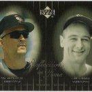 CAL RIPKEN JR & LOU GEHRIG 2000 Upper Deck Reflections In Time INSERT Card #R8 BALTIMORE ORIOLES