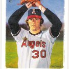 NOLAN RYAN 2002 Topps Gallery Retired Card #191 ANAHEIM LOS ANGELES ANGELS Baseball FREE SHIPPING