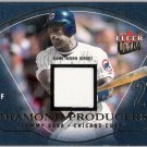 SAMMY SOSA 2004 Fleer Ultra Diamond Producers GAME USED Jersey Card #DPSS CHICAGO CUBS #d 75/1000