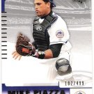 MIKE PIAZZA 2004 UD SP Authentic 499/249 INSERT Card #'d 102/499 NEW YORK METS #81 FREE SHIPPING 81