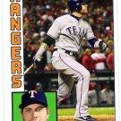 JOSH HAMILTON 2012 Topps Archives Card #190 TEXAS RANGERS Baseball FREE SHIPPING 190