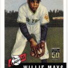 WILLIE MAYS 2001 Topps Through The Years Reprint INSERT Card #3 SAN FRANCISCO GIANTS FREE SHIPPING