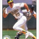MARK MCGWIRE 1990 Upper Deck Card #171 OAKLAND A'S Baseball FREE SHIPPING 171