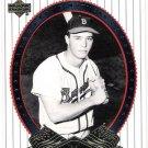 EDDIE MATHEWS 2002 Upper Deck World Series Heroes Card #11 ATLANTA BRAVES Baseball FREE SHIPPING 11