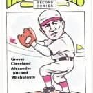 GROVER CLEVELAND ALEXANDER 1980 R.G. Laughlin 2nd Series Card #40 CHICAGO CUBS FREE SHIPPING