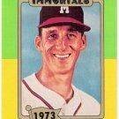 WARREN SPAHN 1980-87 SSPC HOF Baseball Immortals Card #139 ATLANTA BRAVES Baseball FREE SHIPPING