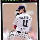 CLAY BUCHHOLZ 2012 Topps Archives Card #87 BOSTON RED SOX Baseball FREE SHIPPING 87