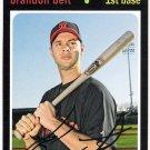 BRANDON BELT 2012 Topps Archives Card #99 SAN FRANCISCO GIANTS Baseball FREE SHIPPING 99