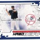 JASON GIAMBI 2002 Fleer E-X Hardwear INSERT Card #10HW NEW YORK YANKEES Baseball FREE SHIPPING