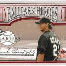 JOSH BECKETT 2004 Fleer Sweet Sigs Ballpark Heroes INSERT Card #16BH FLORIDA MARLINS FREE SHIPPING
