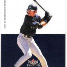 ICHIRO SUZUKI 2003 Fleer Tradition Standouts INSERT Card SEATTLE MARINERS Baseball FREE SHIPPING NNO