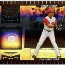 BARRY LARKIN 2004 Leaf Certified Cuts Card #60 CINCINNATI REDS Baseball FREE SHIPPING 60