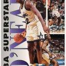 SHAQUILLE O'NEAL 1993-94 Fleer Superstars INSERT Card #16 ORLANDO MAGIC Basketball FREE SHIPPING 16