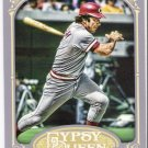 JOHNNY BENCH 2012 Topps Gypsy Queen Card #226 CINCINNATI REDS Baseball FREE SHIPPING 226