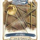 SPUTNIK I 2012 Topps Allen & Ginter Historical Turning Points INSERT Card #HTP19 FREE SHIPPING