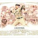ZACK GREINKE 2012 Topps Allen & Ginter SHORT PRINT Card 343 MILWAUKEE BREWERS Baseball FREE SHIPPING