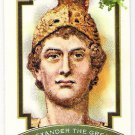 ALEXANDER THE GREAT 2012 Topps Allen & Ginter World's Greatest Military Leaders Card FREE SHIPPING