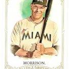 LOGAN MORRISON 2012 Topps Allen & Ginter SHORT PRINT Card #326 MIAMI MARLINS Baseball FREE SHIPPING