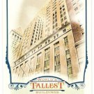 40 WALL STREET 2012 Topps Allen & Ginter World's Tallest Buildings INSERT Card #WTB8 FREE SHIPPING