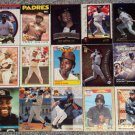 TONY GWYNN Lot of 57 Diffferent Cards ALL LISTED Many Years SAN DIEGO PADRES $70+ BV FREE SHIPPING