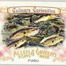 FUGU 2012 Topps Allen & Ginter Culinary Curiosities Mini INSERT Card #CC7 Baseball FREE SHIPPING