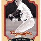 NOLAN RYAN 2012 Panini Cooperstown Card #14 TEXAS RANGERS Baseball FREE SHIPPING Mets Angels