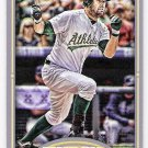 SETH SMITH 2012 Topps Gypsy Queen Straight Cut Back Mini INSERT Card #304 OAKLAND A'S FREE SHIPPING