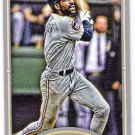 ANDRE DAWSON 2012 Topps Gypsy Queen Mini INSERT Card #231 CHICAGO CUBS Baseball FREE SHIPPING