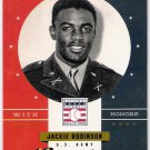 JACKIE ROBINSON 2012 Panini Cooperstown USA With Honors INSERT Card #1 BROOKLYN LOS ANGELES DODGERS
