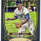 JACKIE ROBINSON 2012 Topps Gypsy Queen Hallmark Heroes INSERT Card #HH-JR LOS ANGELES DODGERS