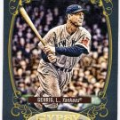 LOU GEHRIG 2012 Topps Gypsy Queen Hallmark Heroes INSERT Card #HH-LG NEW YORK YANKEES FREE SHIPPING